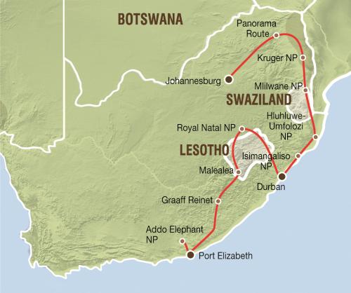 Impressie Zuid Afrika (18 dagen)