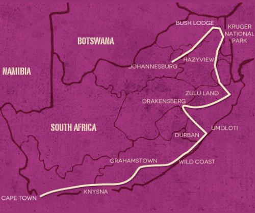 Op avontuur door Zuid Afrika (21 dagen)
