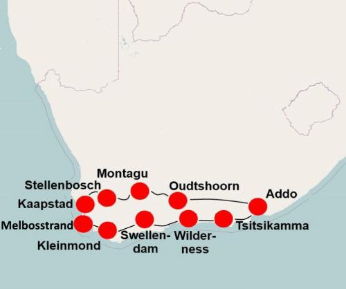 Zuid Afrika per camper (17 dagen)
