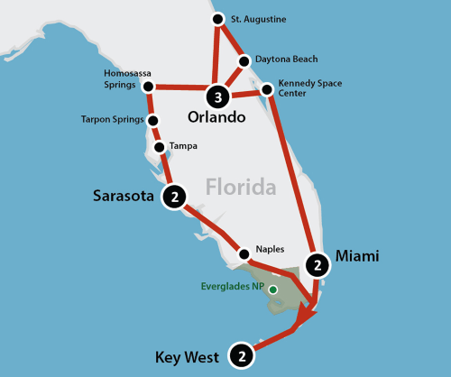 Best of Florida (12 dagen)