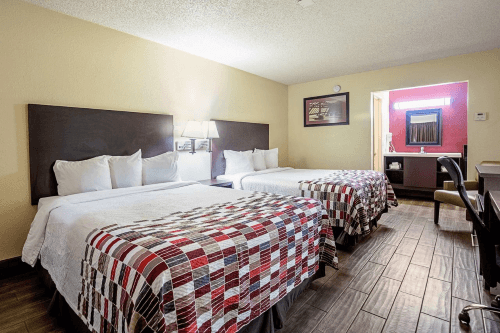 red roof inn kingman kamer.png