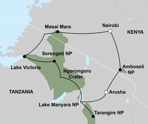 Sfeerimpressie Beleef de migratie van Oost-Afrika (16 dagen) - start Nairobi