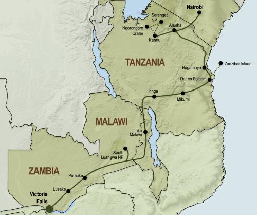 Sfeerimpressie Oost-Afrika avontuur (25 dagen) - Noordwaarts