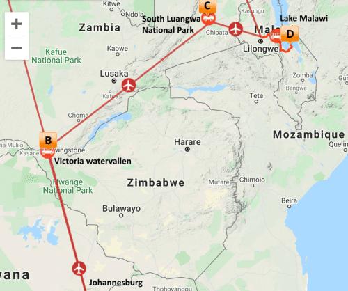 Impressie Zambia Malawi (13 dagen)