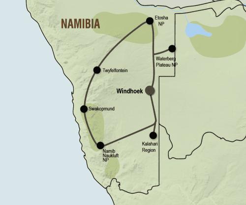 Klassiek Namibië (15 dagen)