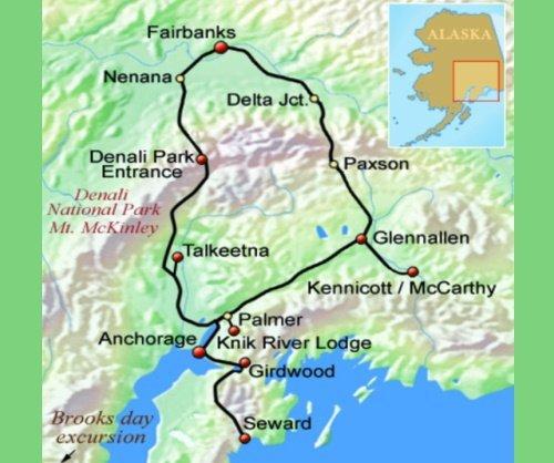 Alaska voor de avonturiers (16 dagen)