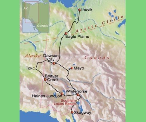 De ruige natuur van Yukon & Northwest Territories (16 dagen)