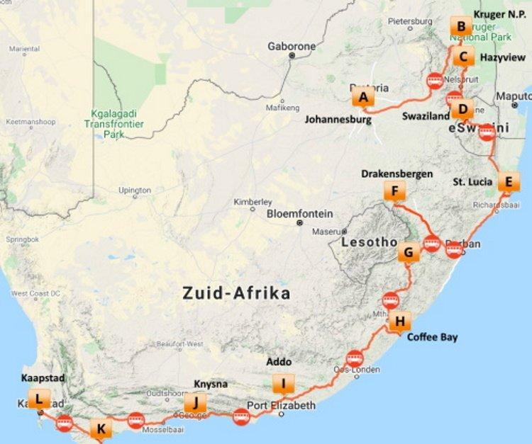 Sfeerimpressie Op avontuur door Zuid-Afrika (21 dagen)