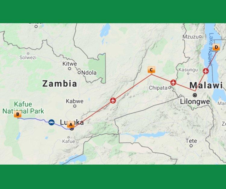 Onbekend Kafue, wildrijk South Luangwa en strand Malawi (12 dagen)