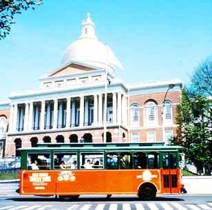 BOSTON OLD TOWN TROLLEY TOUR
