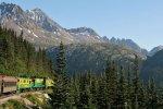 Historische route White Pass per trein