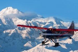 Rondvlucht Mount McKinley
