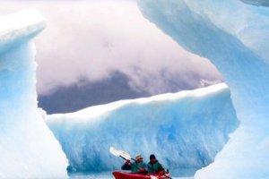 Zeekajakken Columbia Glacier