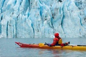 Zeekajakken Shoup Glacier
