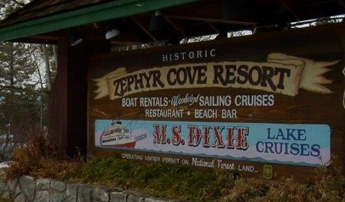 Zephyr Cove Resort welcome