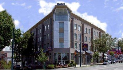 Best Western Plus Uptown Vancouver building