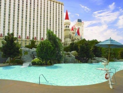 Excalibur pool