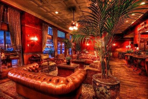 Stockyard Hotel lounge