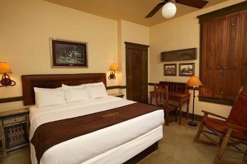 Stockyard Hotel room