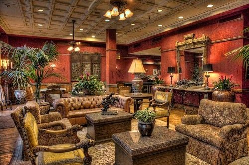 Stockyard Hotel lounge 2