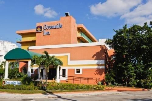 Best Western Plus Oceanside Inn building outside