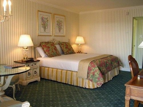 Little America Hotel room