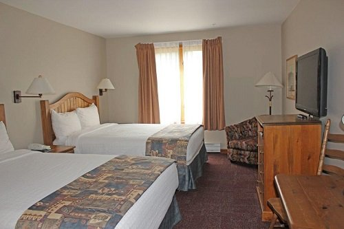 Nancy Greenes Cahilty Lodge room