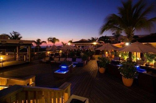 Beachcomber Beach Resort Hotel sundeck