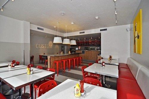Best Western Plus Americania burger restaurant