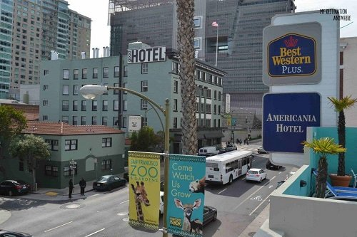 Best Western Plus Americania building