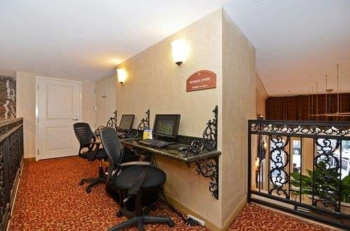 Best Western Plus St. Christopher Hotel business center