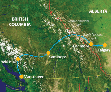 groepsreis Canada Western Journey a