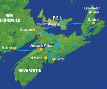 groepsreis Canada Atlantic Maritimes