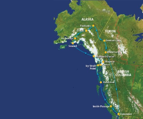 Glaciers and Gold Rush Bonanza (20 dagen)