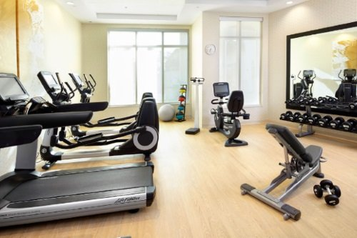 Hyatt Place Miami Airport East gym
