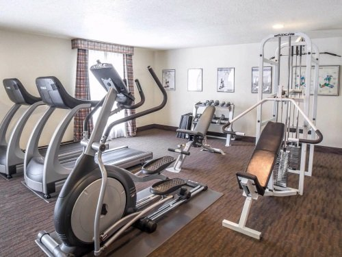 Comfort Inn Salt Lake City Downtown gym