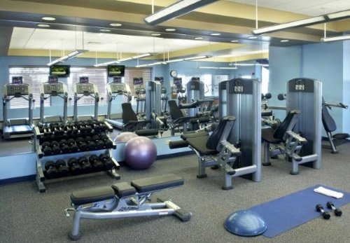 Boston Marriott Quincy fitness center