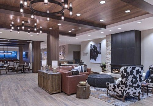 Fairfield Inn & Suites Cheyenne Southwest lobby