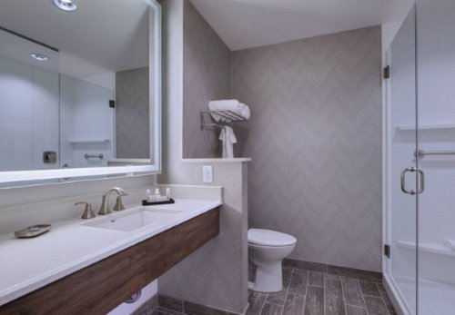 Fairfield Inn & Suites Cheyenne Southwest badkamer