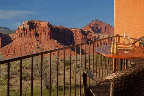 Capitol Reef Resort balkon