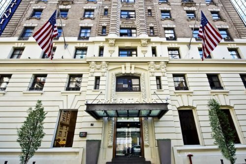 Ameritania Hotel at Times Square entree