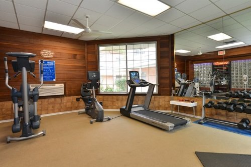 Best Western Greenfield Inn gym