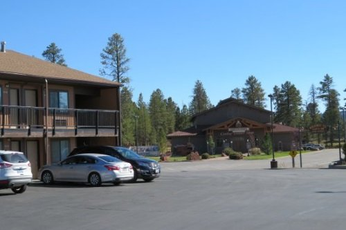Bryce View Lodge parkeer