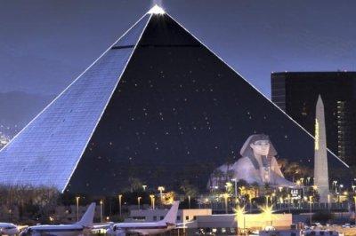 Luxor Las Vegas buitenkant