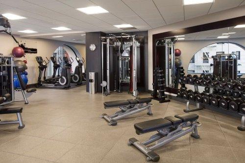 Hilton Parc 55 San Francisco Union Square gym