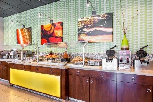 Clarion Hotel Anaheim Resort ontbijt