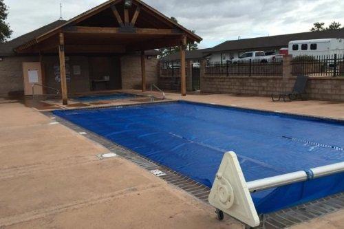 Bryce Canyon Pines Motel zwembad
