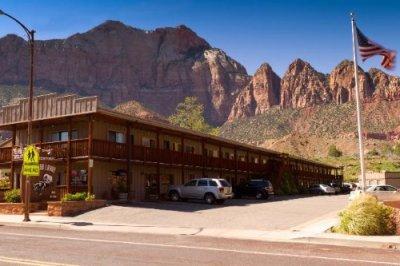 Zion Park Pioneer Lodge gebouw