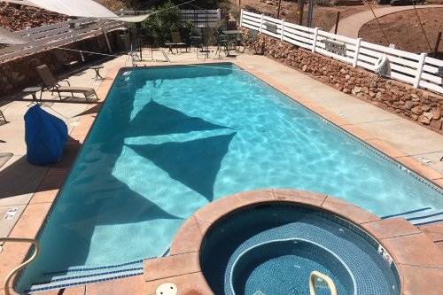 Zion Park Pioneer Lodge zwembad