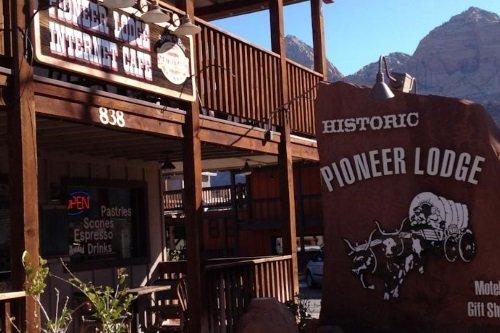 Zion Park Pioneer Lodge buitenkant